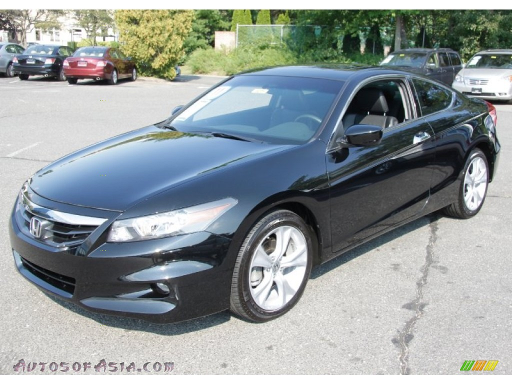 2011 Honda Accord Ex L V6 Coupe In Crystal Black Pearl
