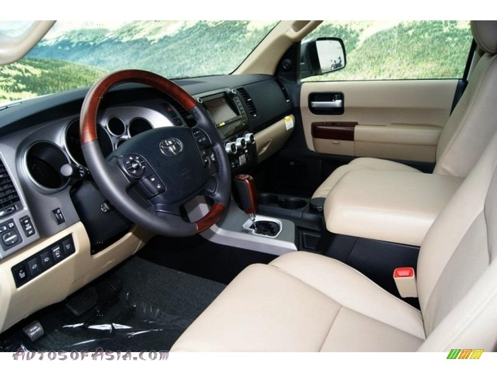 2012 Toyota Sequoia Platinum 4wd In Blizzard White Pearl Photo 4 055625 Autos Of Asia