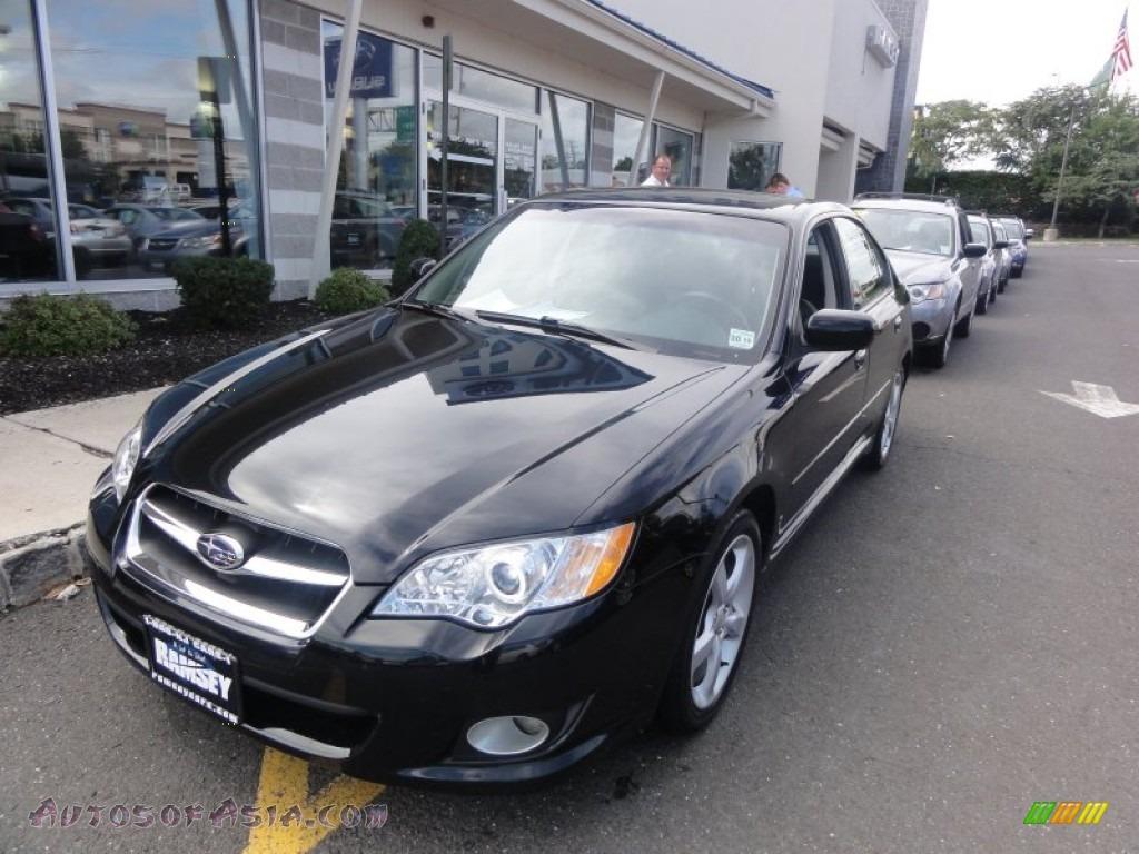 2009 subaru legacy 2.5i limited sedan in obsidian black pearl