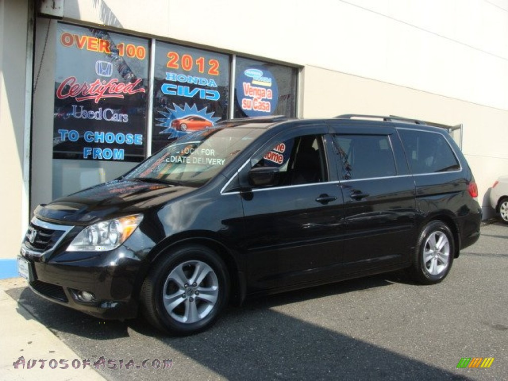 2008 Honda Odyssey Touring In Nighthawk Black Pearl 071799 Autos Of Asia Japanese And