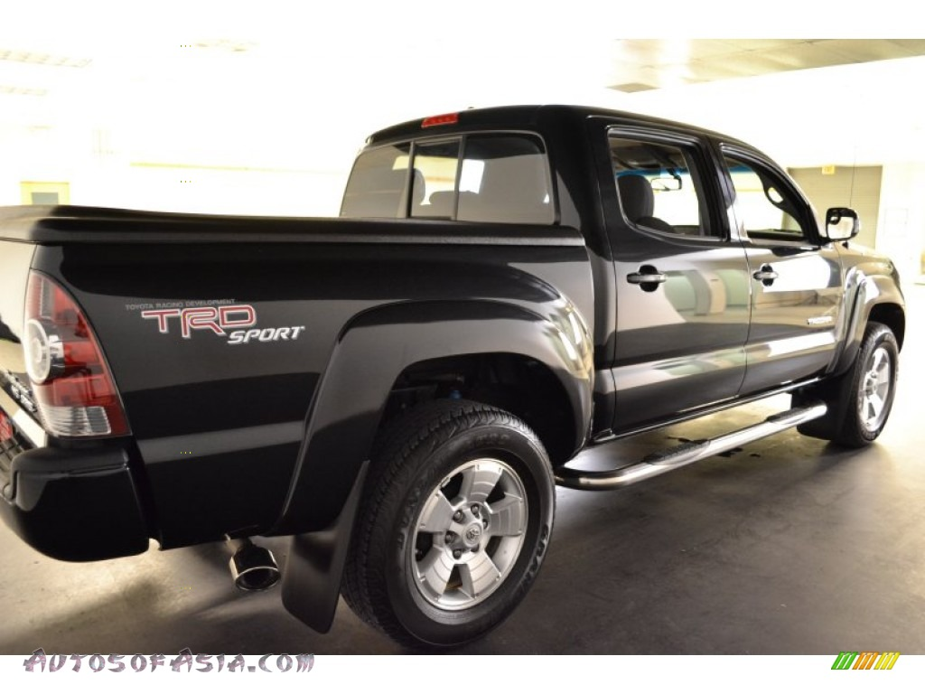 2010 toyota tacoma v6 prerunner trd sport double cab in black sand pearl photo 7 685078. Black Bedroom Furniture Sets. Home Design Ideas