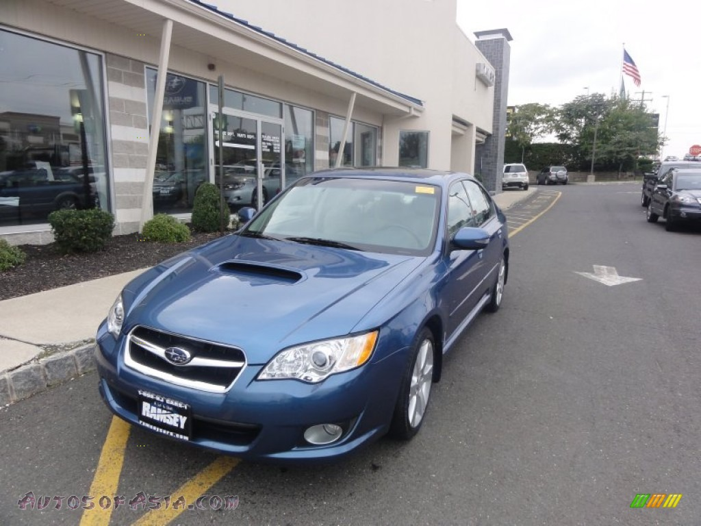 2008 subaru legacy 2.5 gt limited sedan in newport blue pearl