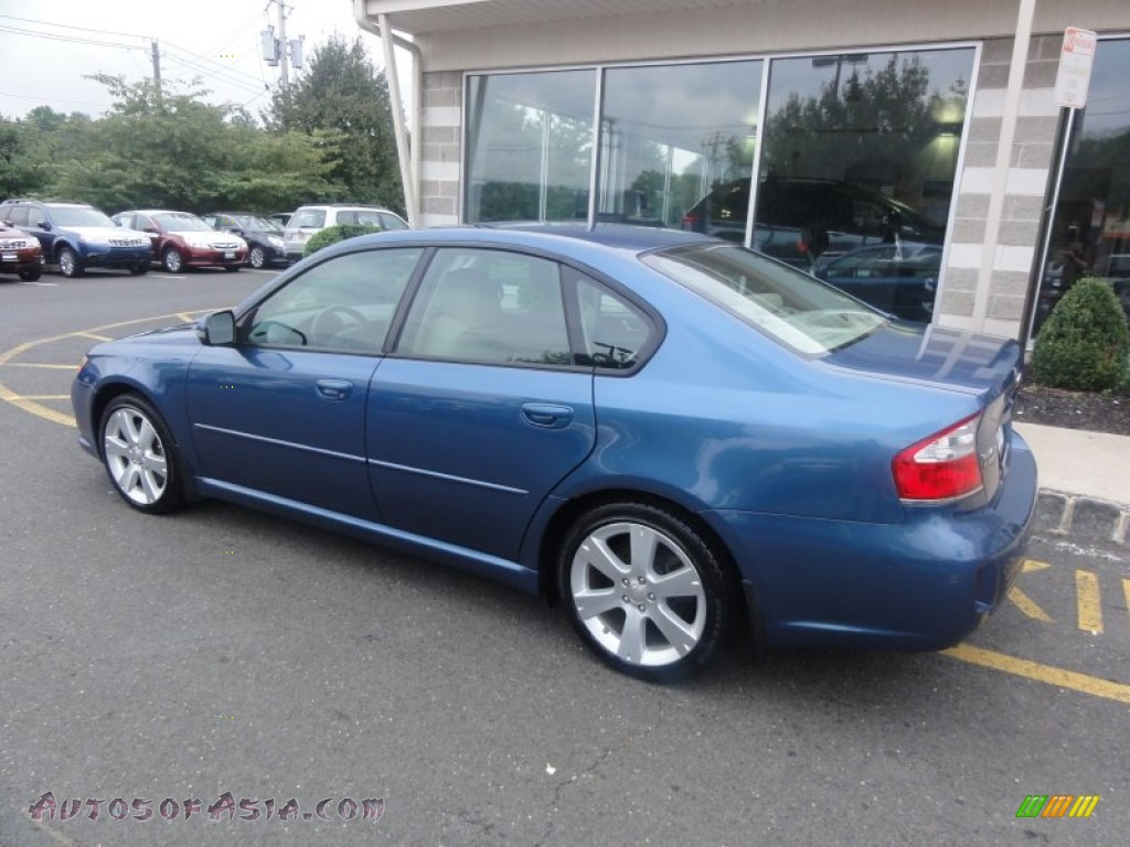 2008 subaru legacy 2 5 gt limited sedan in newport blue pearl photo 4 204321 autos of asia. Black Bedroom Furniture Sets. Home Design Ideas