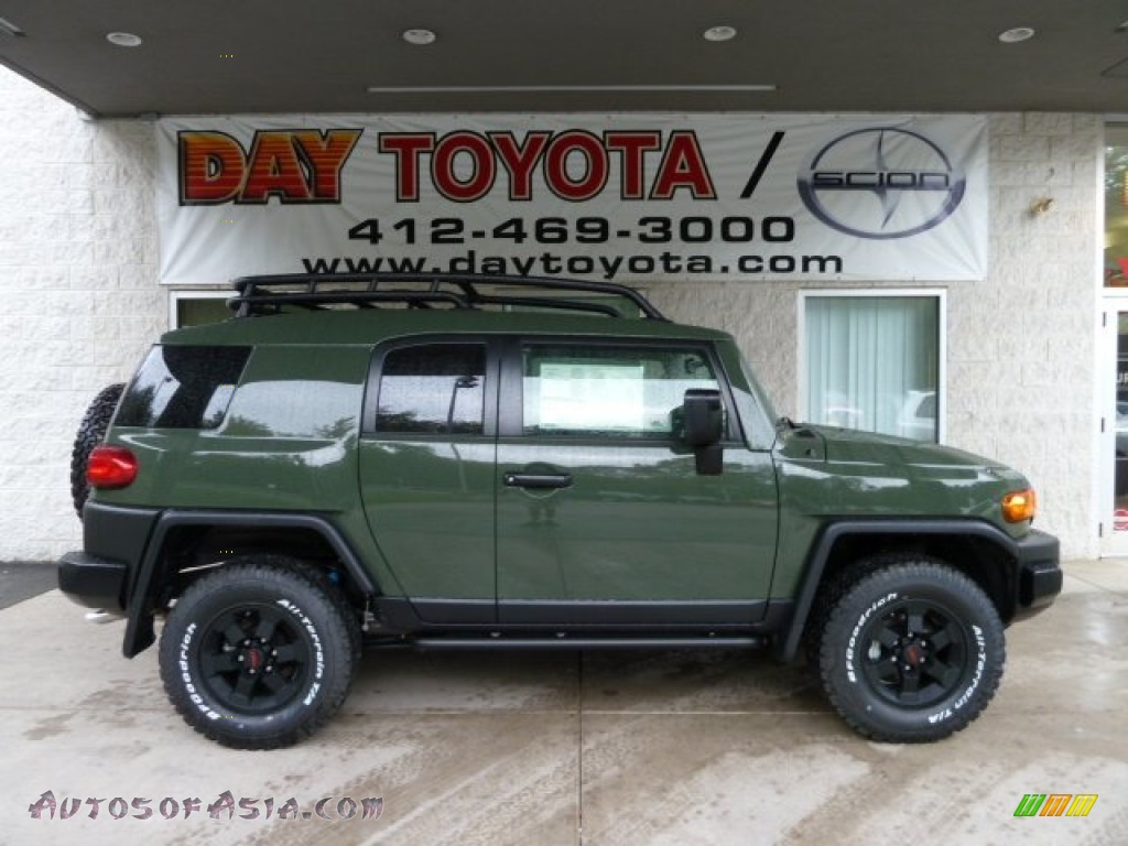2011 Toyota Fj Cruiser Trail Teams Special Edition 4wd In