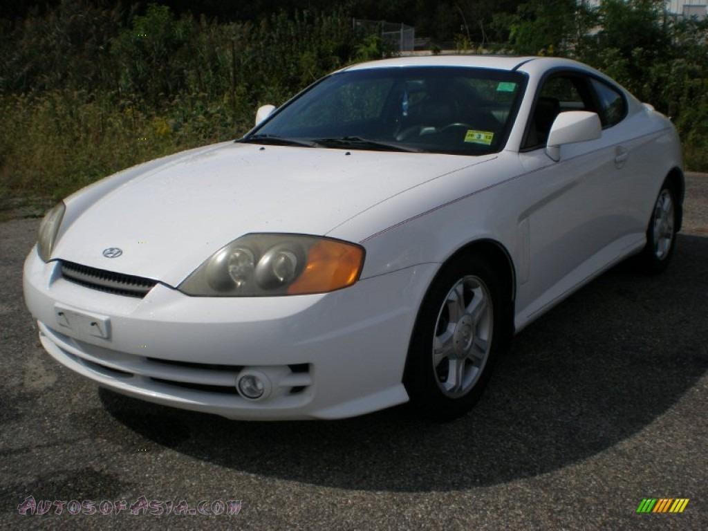 2003 hyundai tiburon gt v6 in alpine white 058480 autos of asia japanese and korean cars. Black Bedroom Furniture Sets. Home Design Ideas