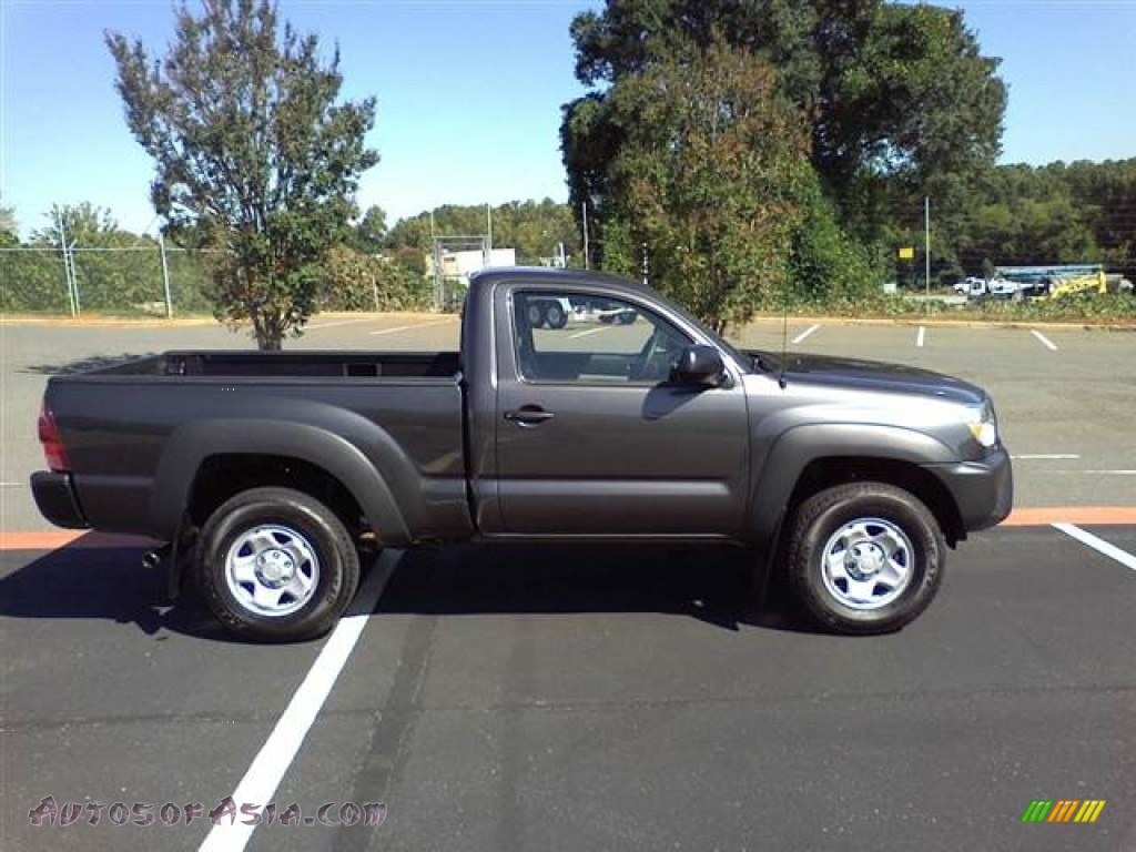 2012 toyota tacoma regular cab 4x4 in magnetic gray mica photo 4 007054 autos of asia. Black Bedroom Furniture Sets. Home Design Ideas