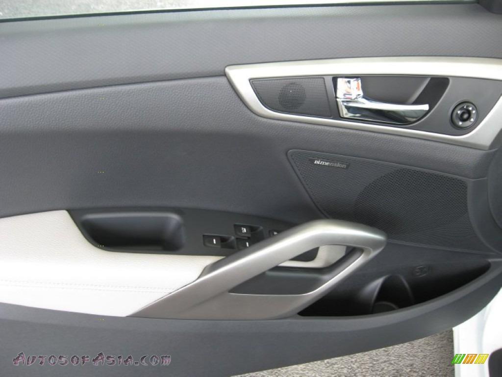2012 Hyundai Veloster In Century White Photo 16 023533
