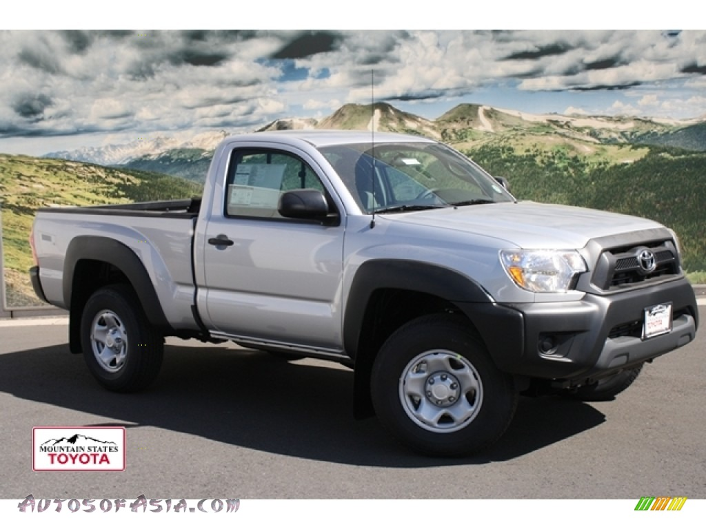 2012 toyota tacoma regular cab 4x4 in silver streak mica 007483 autos of asia japanese and. Black Bedroom Furniture Sets. Home Design Ideas