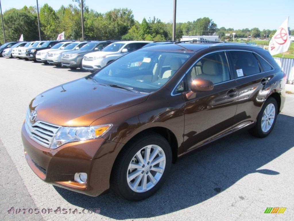 2011 Toyota Venza I4 In Sunset Bronze Mica 051548