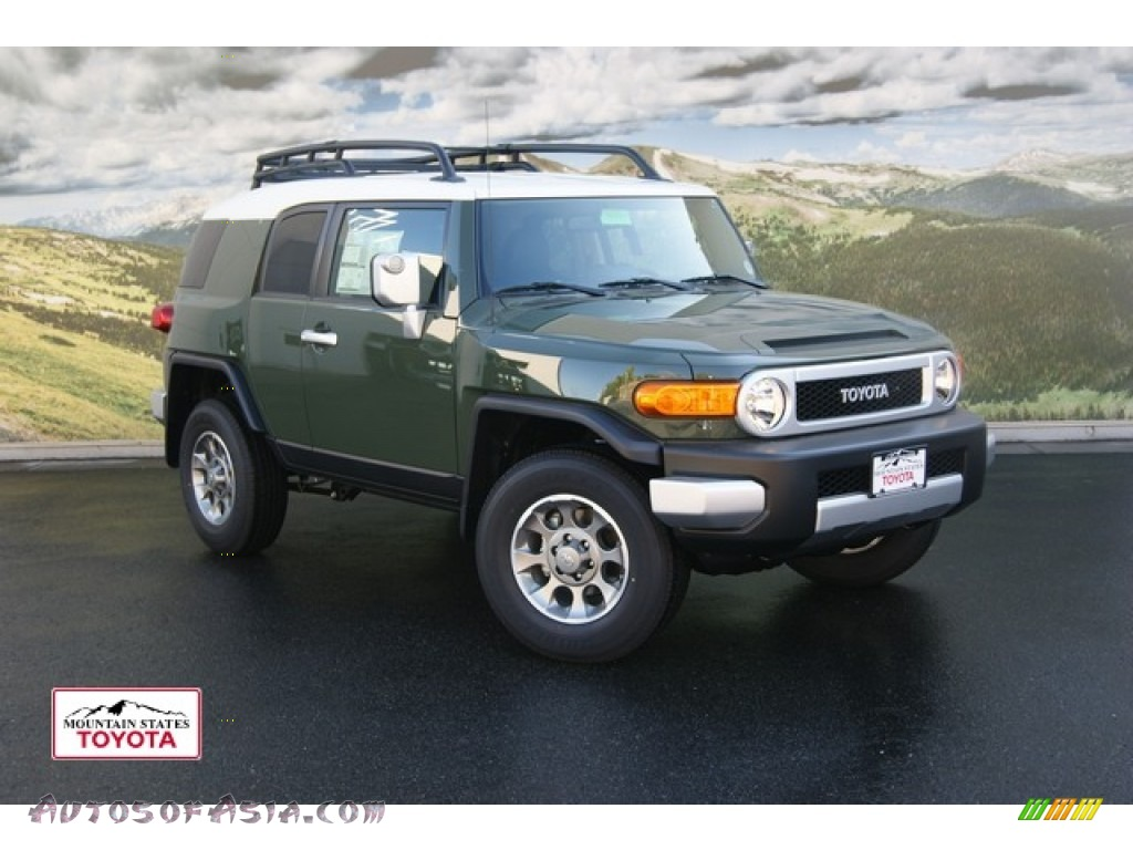 2012 Toyota FJ Cruiser 4WD in Army Green - 120279 | Autos of Asia ...