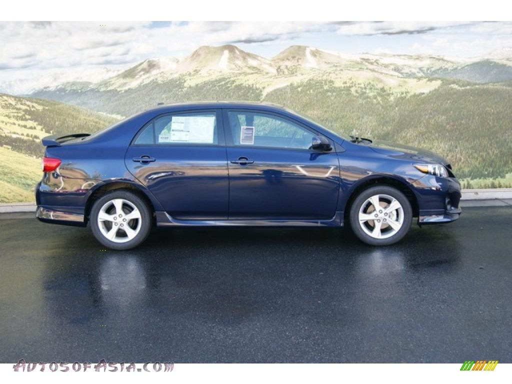 2011 Toyota Corolla S In Nautical Blue Metallic Photo 2