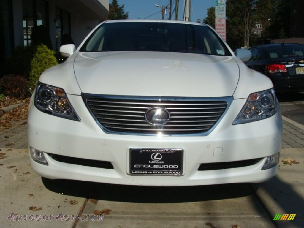 2009 lexus ls 460 awd in starfire white pearl photo 2. Black Bedroom Furniture Sets. Home Design Ideas