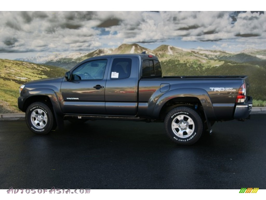 2012 Toyota Tacoma V6 Trd Access Cab 4x4 In Magnetic Gray