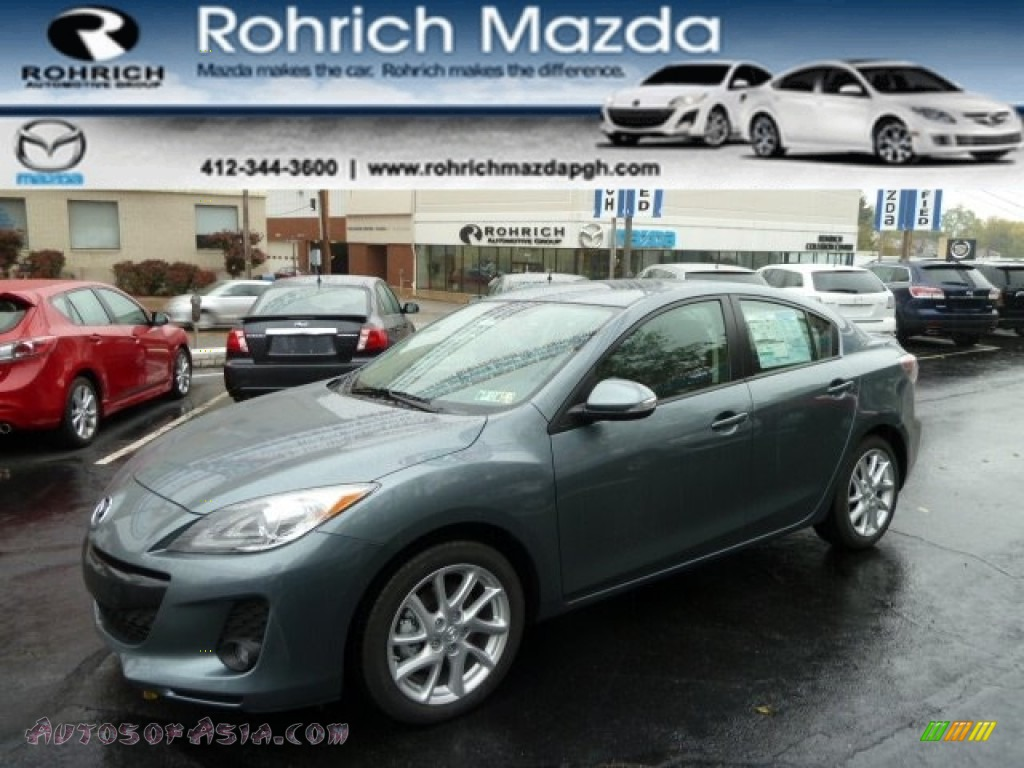2012 mazda mazda3 s grand touring 4 door in dolphin gray mica 529989 autos of asia. Black Bedroom Furniture Sets. Home Design Ideas
