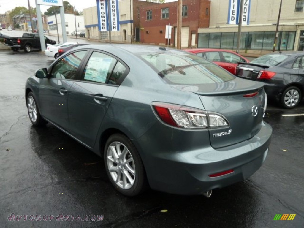 2012 mazda mazda3 s grand touring 4 door in dolphin gray. Black Bedroom Furniture Sets. Home Design Ideas