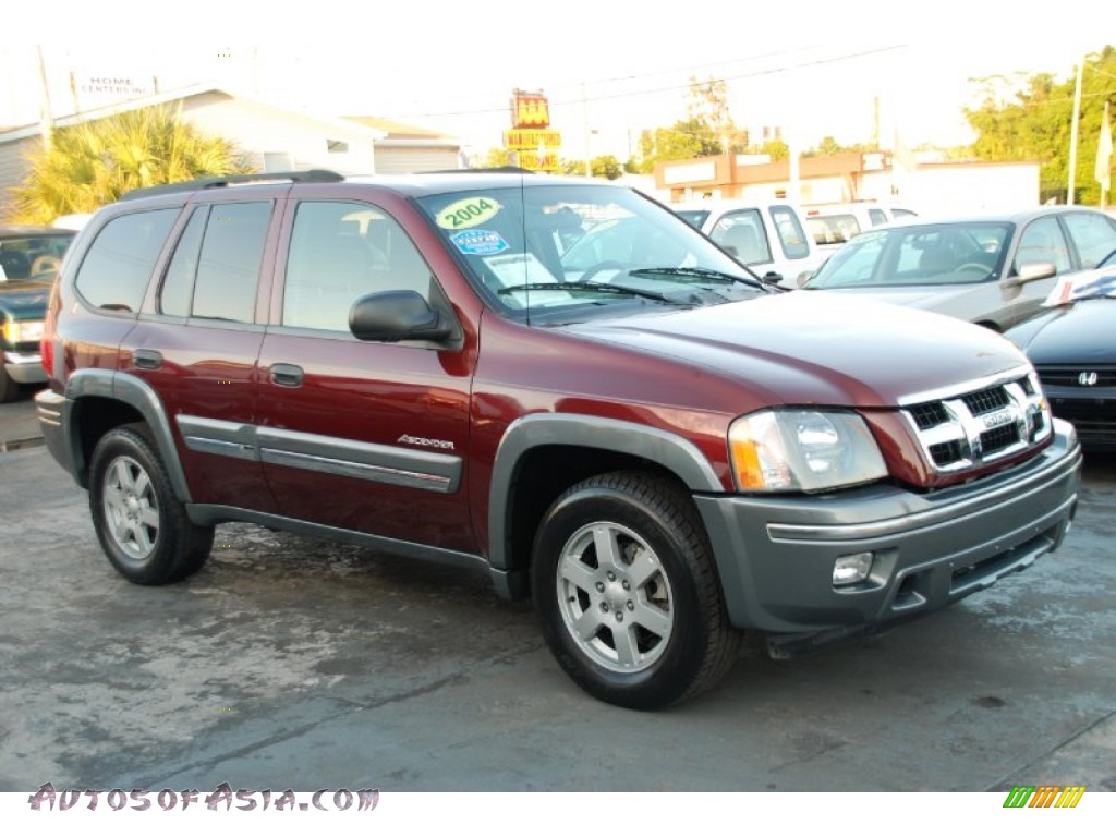 2004 Isuzu Ascender S In Napa Red Metallic 104705