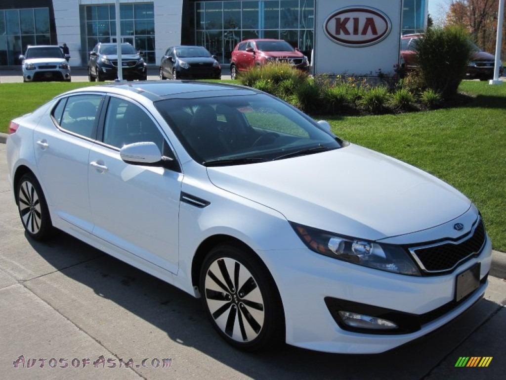 2012 Kia Optima Sx In Snow White Pearl 009733 Autos Of