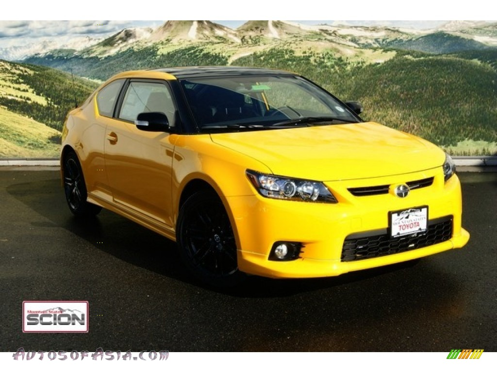 2012 scion tc release series 7 0 in high voltage yellow 029373 autos of asia japanese and. Black Bedroom Furniture Sets. Home Design Ideas