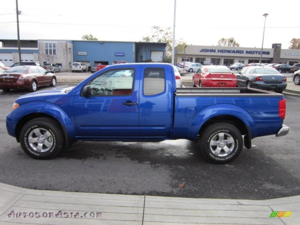 2012 nissan frontier sv v6 king cab 4x4 in metallic blue photo 4 401370 autos of asia. Black Bedroom Furniture Sets. Home Design Ideas
