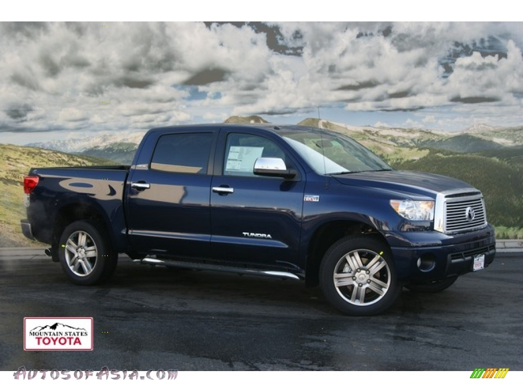 2012 Toyota Tundra Limited Crewmax 4x4 In Nautical Blue