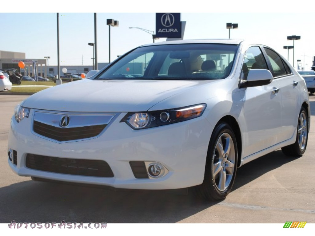 2012 acura tsx sedan in bellanova white pearl 002246. Black Bedroom Furniture Sets. Home Design Ideas
