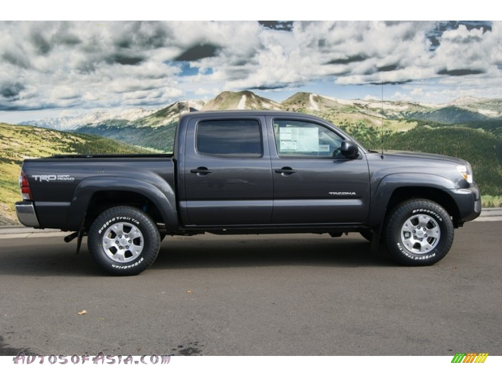 2012 Toyota Tacoma V6 Trd Double Cab 4x4 In Magnetic Gray