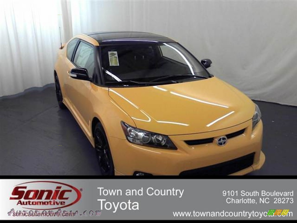 2012 scion tc release series 7 0 in high voltage yellow 028547 autos of asia japanese and. Black Bedroom Furniture Sets. Home Design Ideas