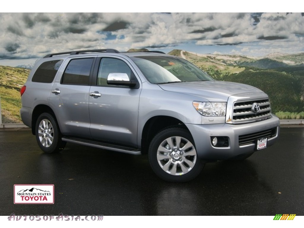 2012 toyota sequoia platinum 4wd in silver sky metallic 058071 autos of asia japanese and. Black Bedroom Furniture Sets. Home Design Ideas