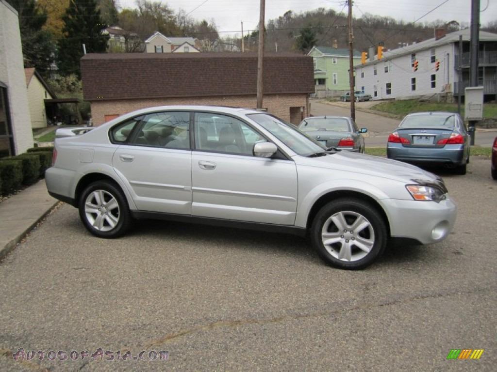 2005 Subaru Outback 3 0 R Sedan In Brilliant Silver