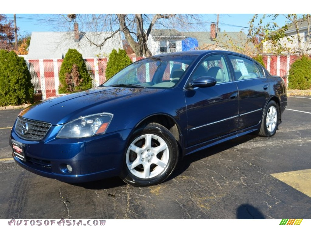 2005 nissan altima 3 5 sl in majestic blue metallic 447730 autos of asia japanese and. Black Bedroom Furniture Sets. Home Design Ideas