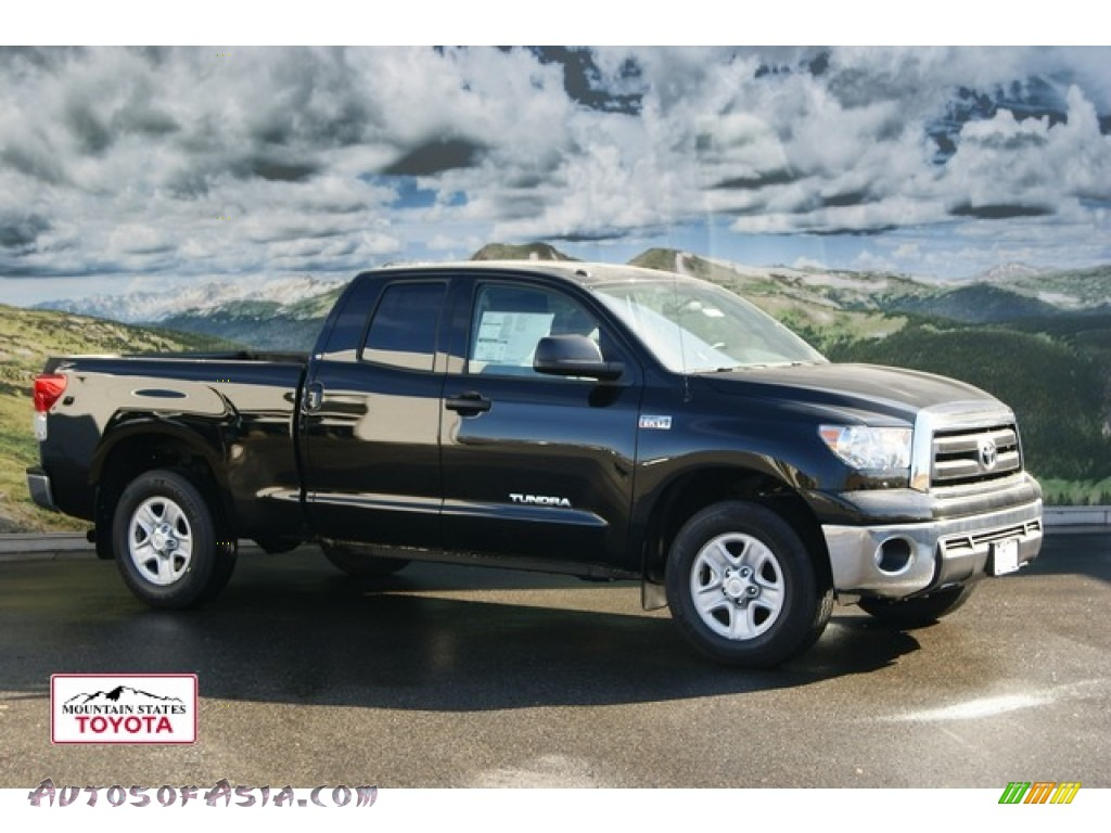 2012 Toyota Tundra Double Cab 4x4 In Black 211229