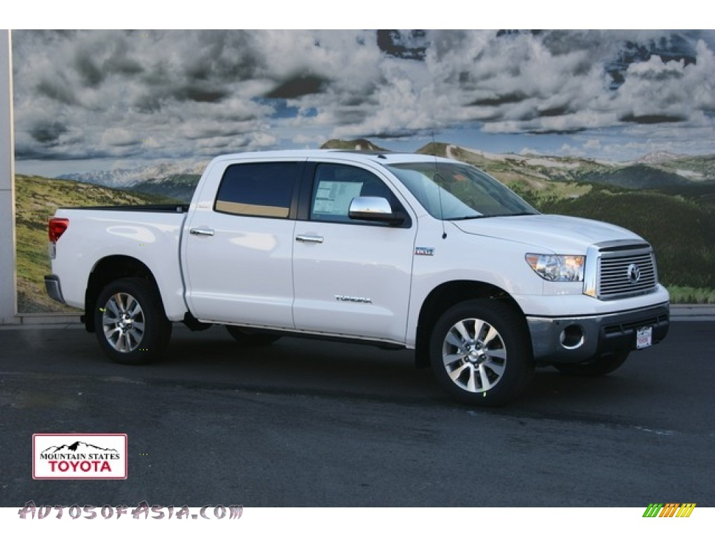 2012 toyota tundra platinum crewmax 4x4 in super white 217673 autos of asia japanese and. Black Bedroom Furniture Sets. Home Design Ideas