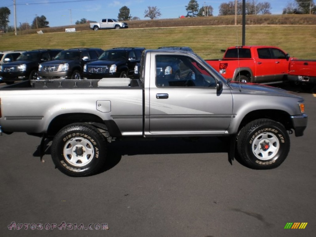 1993 Toyota Pickup Deluxe Regular Cab 4x4 In Silver