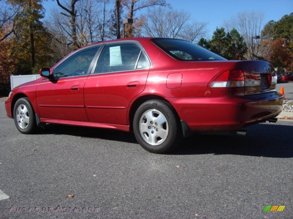 2002 honda accord ex v6 sedan in firepepper red pearl photo 5 060635 autos of asia. Black Bedroom Furniture Sets. Home Design Ideas