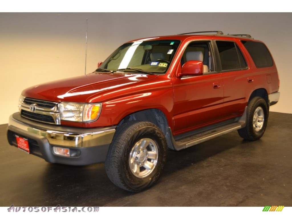 2001 toyota 4runner sr5 in sunfire red pearl 202134 autos of asia japanese and korean cars. Black Bedroom Furniture Sets. Home Design Ideas