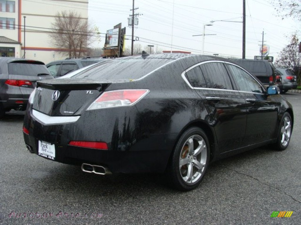 2010 acura tl 3 7 sh awd technology in crystal black pearl photo 3 002300 autos of asia. Black Bedroom Furniture Sets. Home Design Ideas