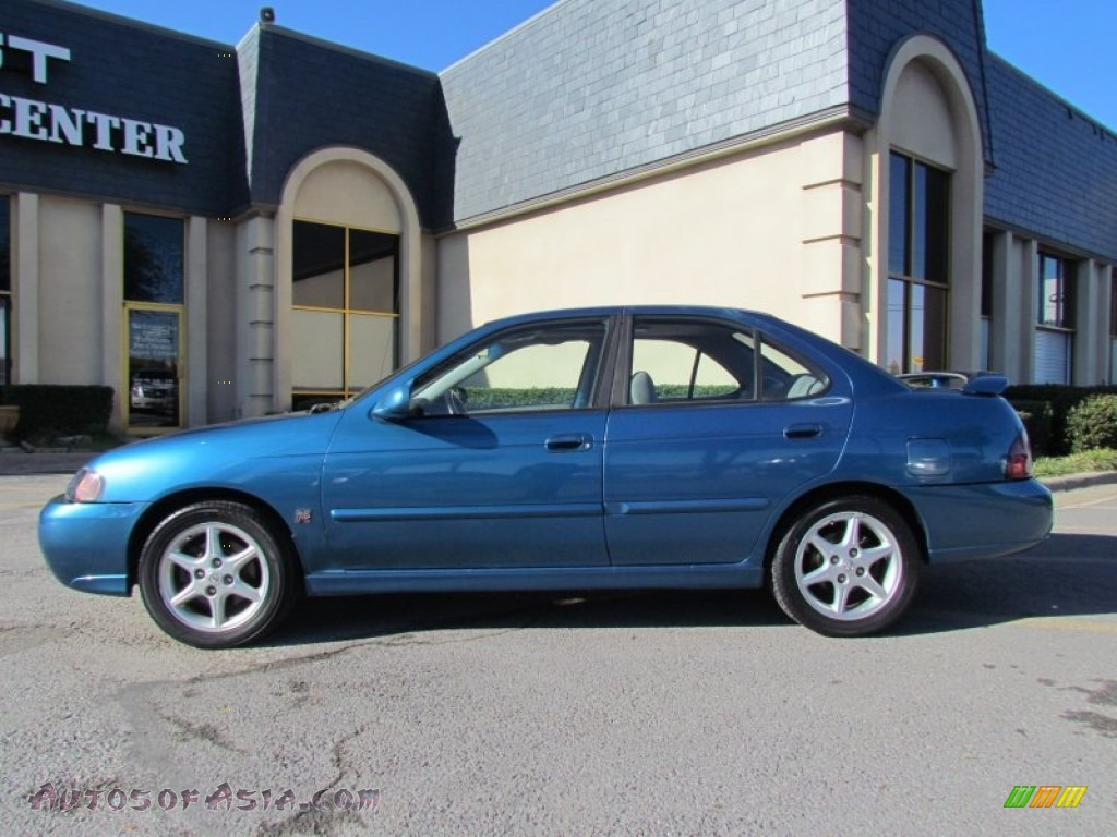 2002 nissan sentra se r in vibrant blue metallic 705499. Black Bedroom Furniture Sets. Home Design Ideas