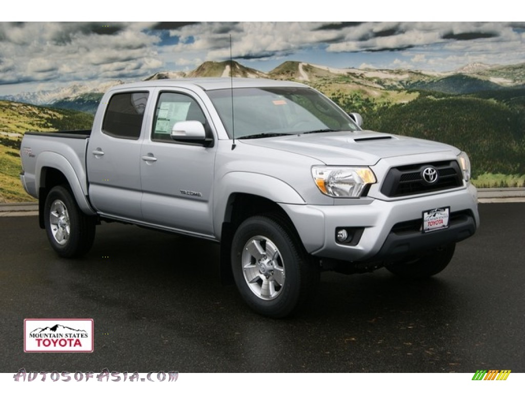 2012 toyota tacoma v6 trd sport double cab 4x4 in silver streak mica 085829 autos of asia. Black Bedroom Furniture Sets. Home Design Ideas