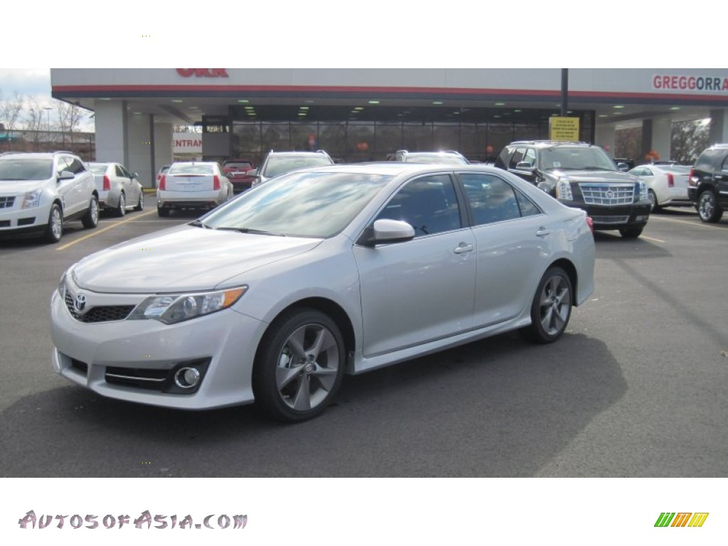 2012 Toyota Camry Se V6 In Classic Silver Metallic