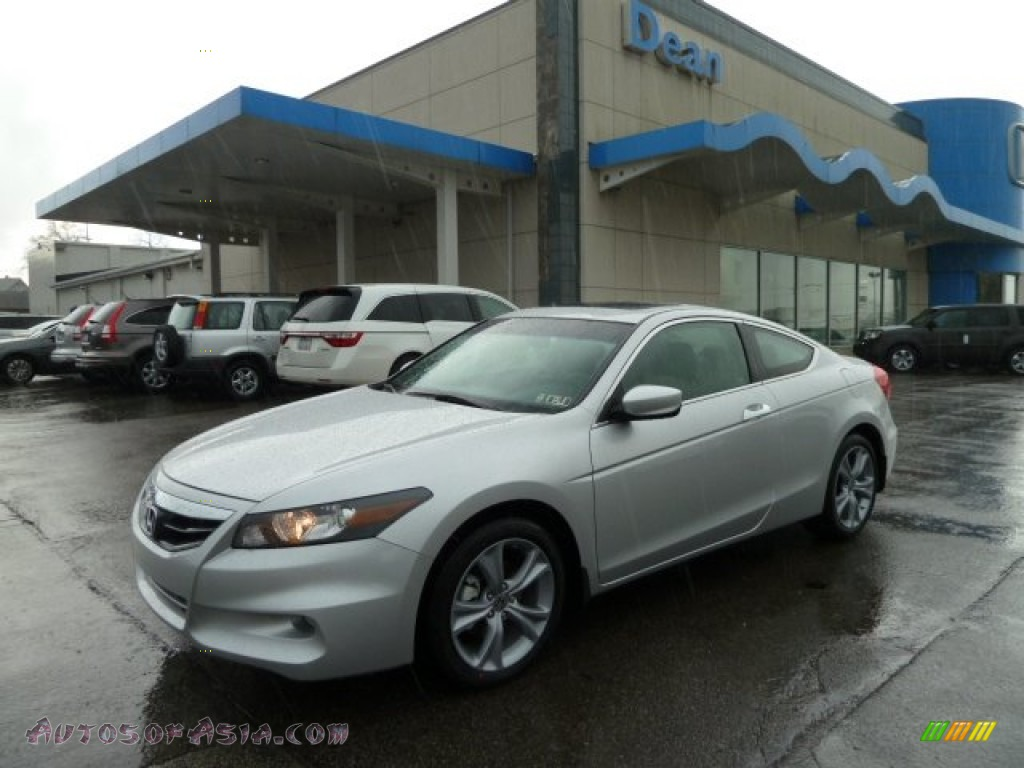 2012 honda accord ex l v6 coupe in alabaster silver metallic 002377 autos of asia japanese. Black Bedroom Furniture Sets. Home Design Ideas