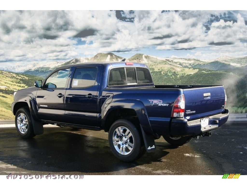 2012 toyota tacoma v6 trd sport double cab 4x4 in nautical blue metallic photo 3 085662. Black Bedroom Furniture Sets. Home Design Ideas
