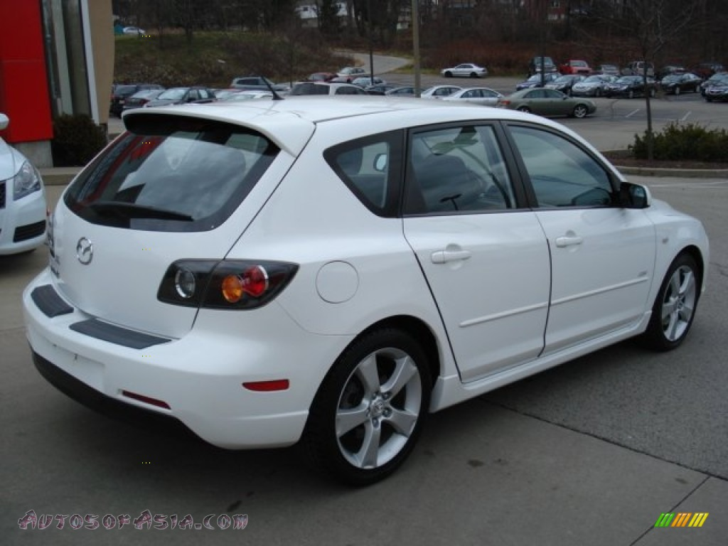 2005 mazda mazda3 s hatchback in rally white photo 6 284327 autos of asia japanese and. Black Bedroom Furniture Sets. Home Design Ideas