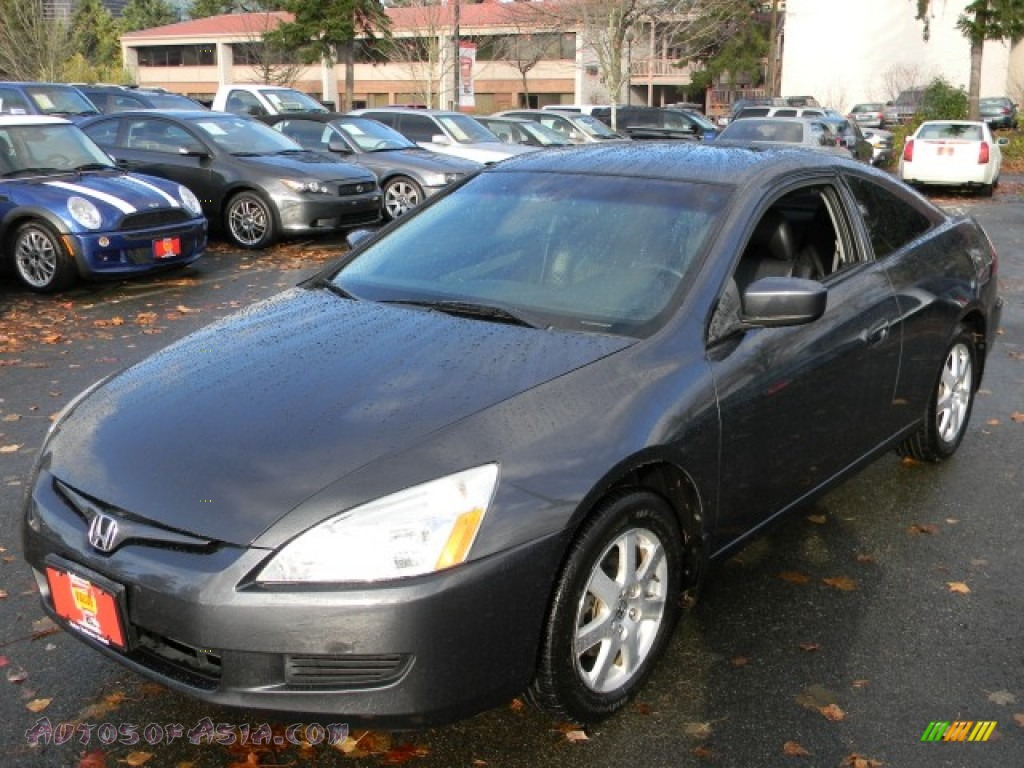 2005 honda accord ex v6 coupe in graphite pearl 014663. Black Bedroom Furniture Sets. Home Design Ideas