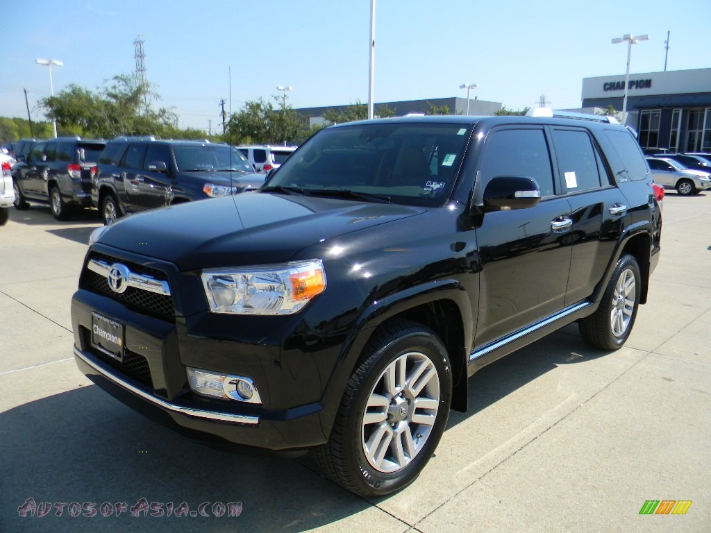 2011 toyota 4runner limited 4x4 in black 069495 autos of asia japanese and korean cars for. Black Bedroom Furniture Sets. Home Design Ideas