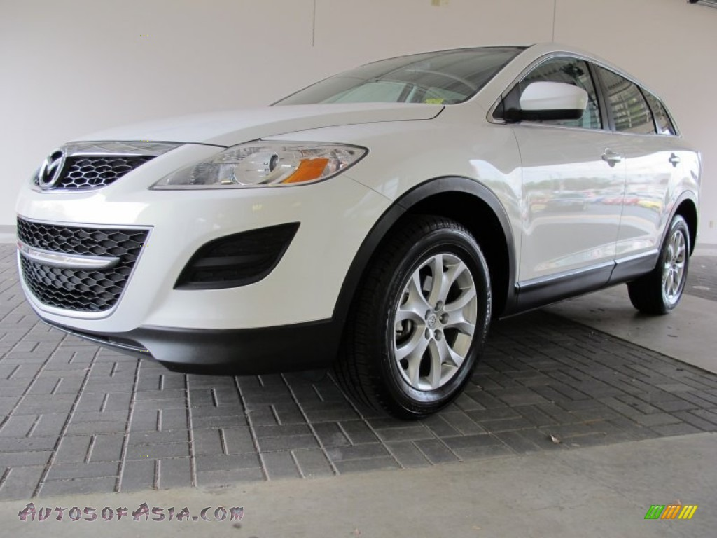 2011 mazda cx 9 sport in crystal white pearl mica photo. Black Bedroom Furniture Sets. Home Design Ideas