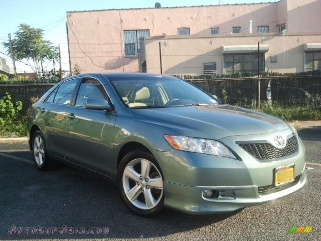 2008 toyota camry le in aloe green metallic 774140 autos of asia japanese and korean cars. Black Bedroom Furniture Sets. Home Design Ideas