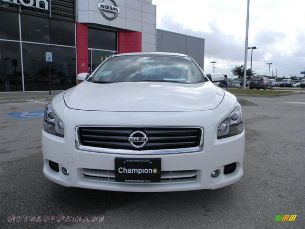 2012 nissan maxima 3 5 sv sport in winter frost white photo 2 817854 autos of asia. Black Bedroom Furniture Sets. Home Design Ideas