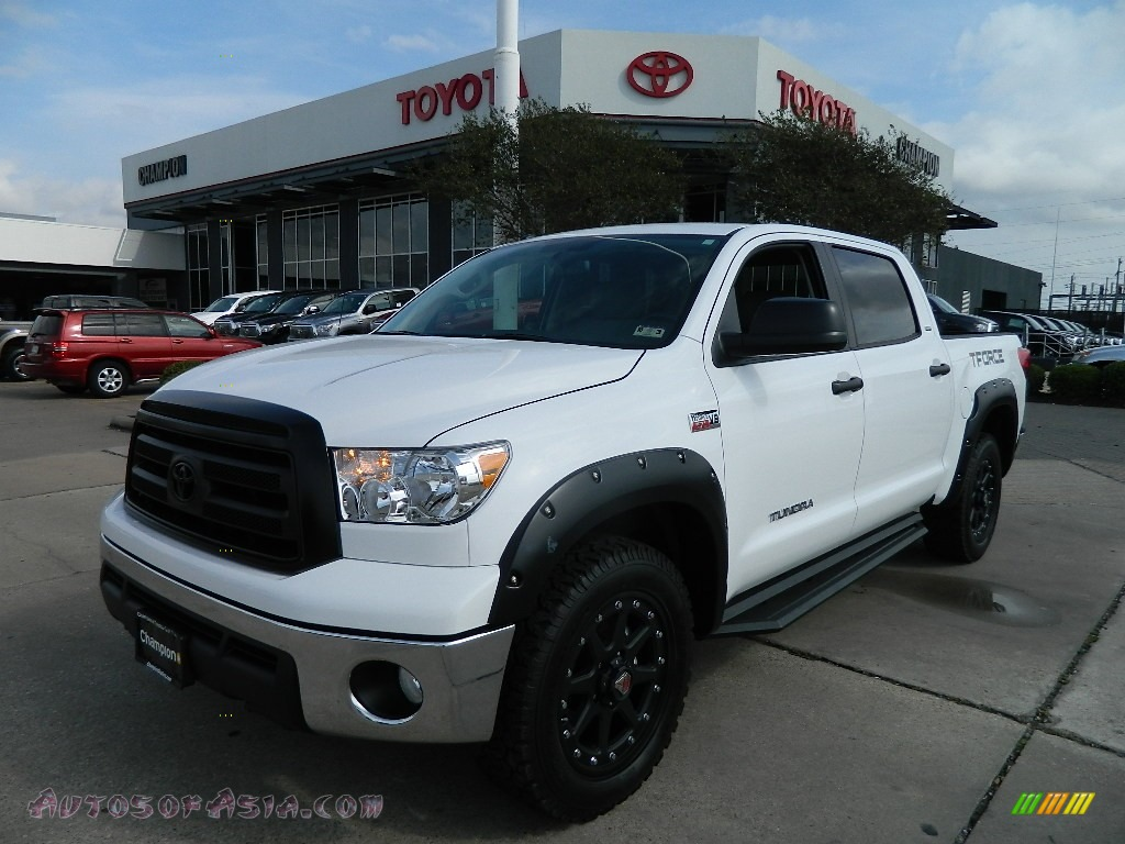 2012 toyota tundra t force 2 0 limited edition crewmax 4x4 in super white 216155 autos of. Black Bedroom Furniture Sets. Home Design Ideas