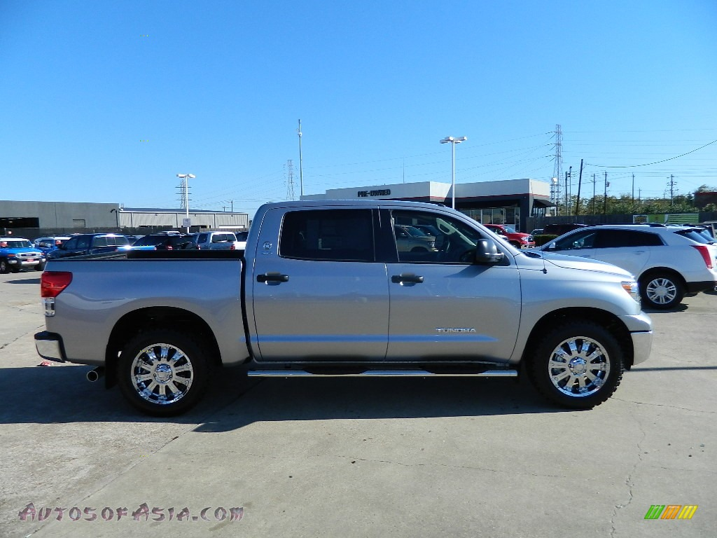 2012 toyota tundra texas edition crewmax in silver sky metallic photo 2 038091 autos of