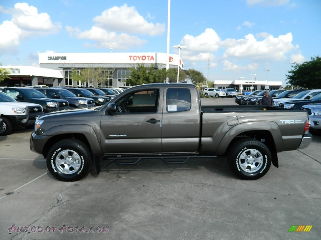2012 Toyota Tacoma V6 Trd Access Cab 4x4 In Pyrite Mica